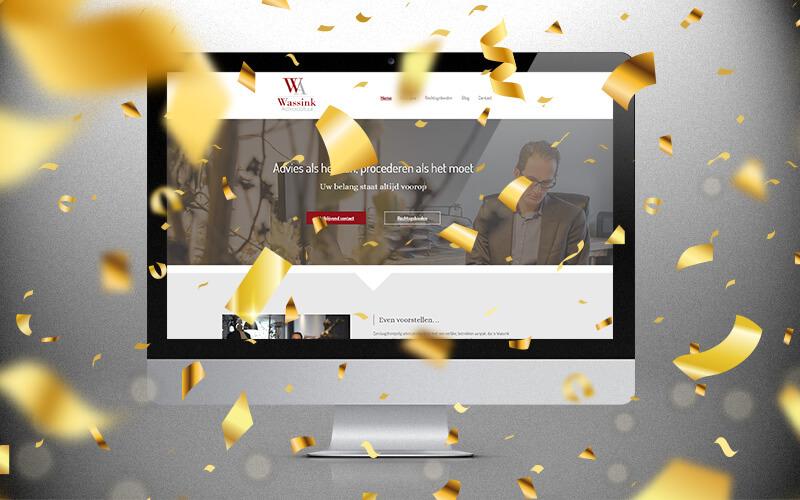 Nieuwe website Wassink Advocatuur 5 jaar